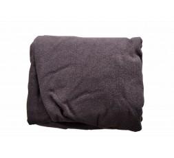Drap-Housse Tissu-éponge Sans Trou Facial, Marron