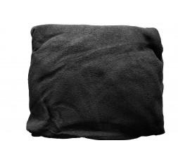 Drap-Housse Tissu-éponge avec Trou Facial, Marron