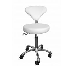 Chaise à roulettes Agathe - Blanc