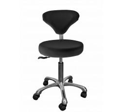 Chaise à roulettes Marina - Noir