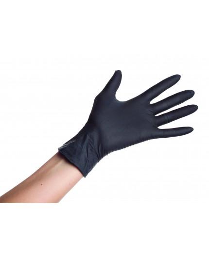 Powder-free nitrile gloves, Size S, 100 pcs