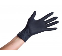 Powder-free nitrile gloves, Size M, 100 pcs