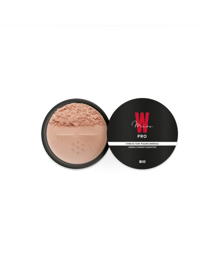 Fond de teint poudre minérale N°22 Beige doré - Miss W